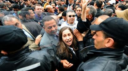 Thousands revolt in Egypt following Tunisia's lead