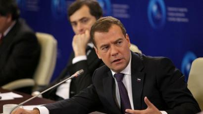 """Everything is continuing as agreed"" – Medvedev"