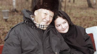Boris Yeltsin with his granddaughter Masha, November 20, 1996 (Ria Novosti / Dmitry Donskoy, STF)