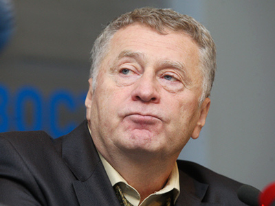 The leader of Russia's Liberal Democratic Party, Vladimir Zhirinovsky (RIA Novosti / Ilya Pitalev)