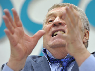 Vladimir Zhirinovsky, leader of the Liberal Democratic Party.(RIA Novosti / Alexander Utkin)