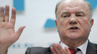 Zyuganov, Zhirinovsky slam media for pro-Putin propaganda