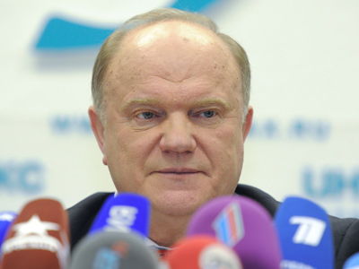 Zyuganov slams rivals for recognizing Putin win