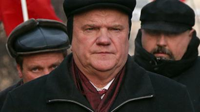 Leader of the Communist Party of the Russian Federation Gennady Zyuganov. (RIA Novosti / Valeriy Melnikov)