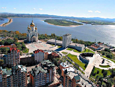 Khabarovsk (Photo from http://asdg.ru)