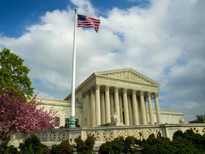 The US Supreme Court Building in Washington, DC (AFP Photo / Karen Bleier)