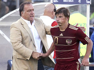 Advocaat, Arshavin look forward to FIFA decision