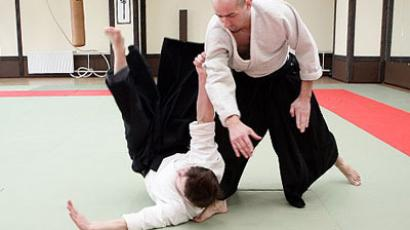 Aikido experts offer master-class to Moscow public