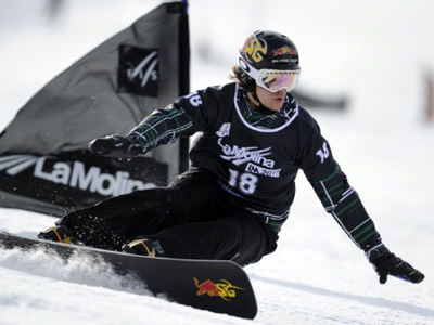 Top American snowboarder willing to race for Russia
