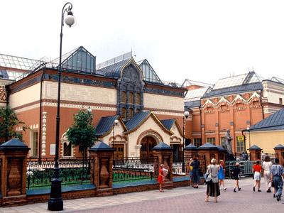 The Tretyakov Gallery in Moscow. (RIA Novosti / Vladimir Vyatkin)