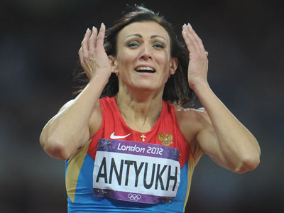 Antyukh claims another athletics gold for Russia