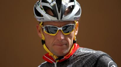 Lance Armstrong of the USA (AFP Photo / Doug Pensinger)