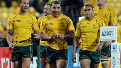Wallabies claim Rugby World Cup bronze