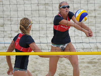 Russian beach volley duo through to London Olympics