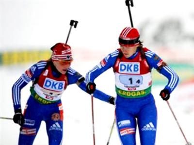 Russian biathletes won't back down