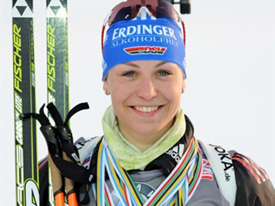 Germany claims women's biathlon relay, tops overall standings