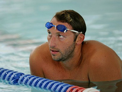 Ian Thorpe (AFP Photo / Greg WOOD)
