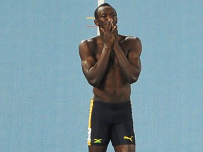 Bolt eliminated from Athletic Worlds 100-meter final