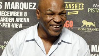 Former heavyweight champion Mike Tyson (Jeff Bottari/Getty Images/AFP)