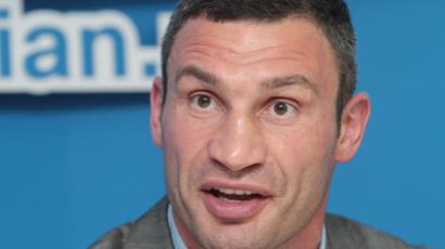 Vitaly Klitschko (RIA Novosti / Grigory Vasilenko)