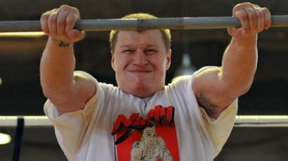 WBA 'regular' champion, Aleksandr Povetkin of Russia (RIA Novosti/Vladimir Pesnya)