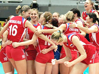 China helpless against Russia in FIVB World Grand Prix