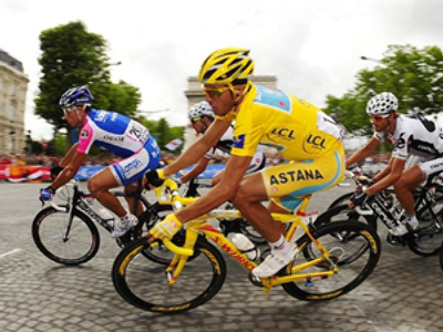 Contador suspended after failing doping test
