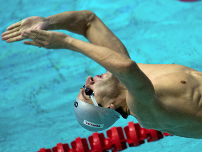 Donets makes triumphant return at Moscow swimming event