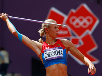 Chernova wins Russia's 10th Olympic bronze