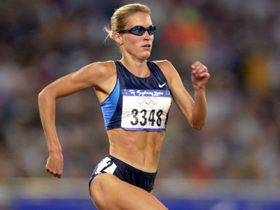 Suzy Favor Hamilton (AFP Photo / Eric Feferberg)