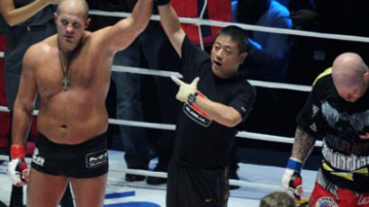 Japanese Olympic champ to become Fedor's New Year present