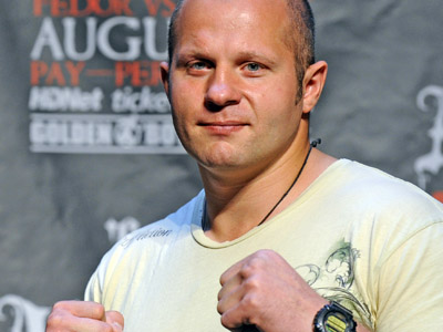 Fedor Emelianenko (AFP Photo/Emmanuel Dunand)