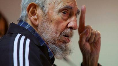 Fidel Castro (AFP Photo/www.cubadebate.cu/Roberto Chile/HO)