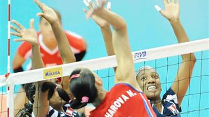 Russia back on winning track in FIVB World GP