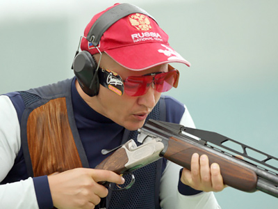 Russian shoots world record down