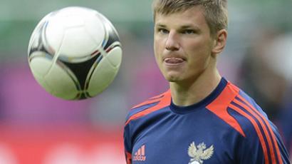 Russian national team captain, Andrey Arshavin (AFP Photo/Odd Andersen)