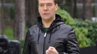 Russian PM, Dmitry Medvedev (RIA Novosti / Alexander Astafev)