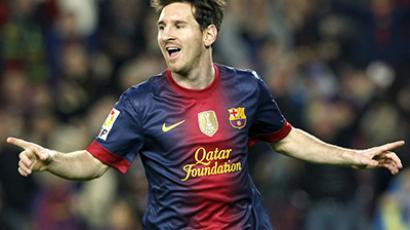 Barcelona's Lionel Messi. (Reuters / Albert Gea)