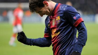 FC Barcelona player Lionel Messi.(RIA Novosti / Alexander Vilf)