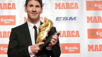 Barcelona's Argentinian forward Lionel Messi. (AFP Photo / Lluis Gene)