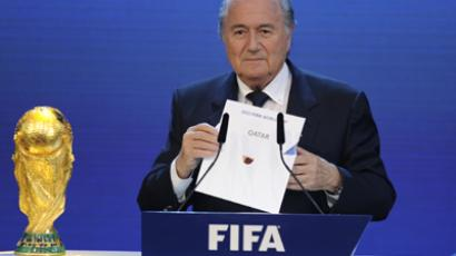 FIFA President Sepp Blatter (AFP Photo / Philippe Desmazes)