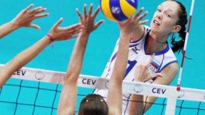 Russia crash out of European volleyball championships