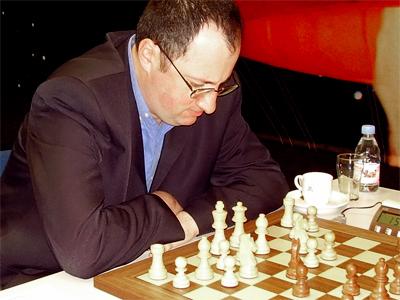 Boris Gelfand at Corus tournament