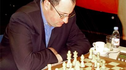 Boris Gelfand at Corus tournament