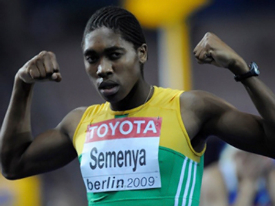 Caster Semenya (AFP Photo / Olivier Morin)