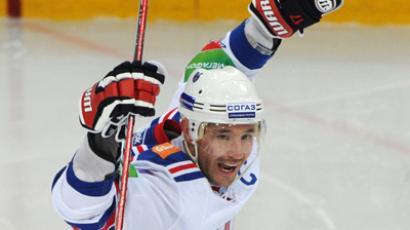 SKA player Ilya Kovalchuk. (RIA Novosti / Vladimir Fedorenko)