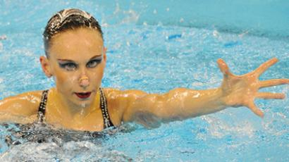 Russia hit synchronized swimming jackpot in China, Ischenko 16-times world champ