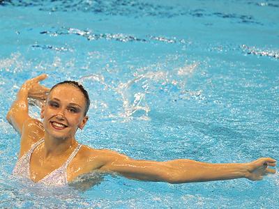 Russia's Natalia Ishchenko (RIA Novosti / Alexandr Vilf)
