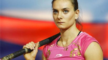 Pole vault queen has training problems