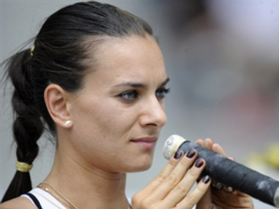 Isinbaeva off to a good season start